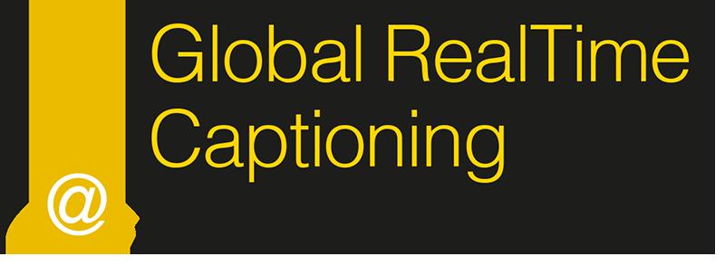 globalrealtimecaptioning.com Logo